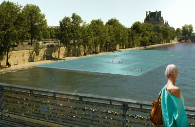 Piscine sur la Seine, Paris